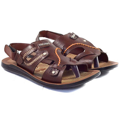 pokrok men pu casual sandals (groomy3) tan, brown, black