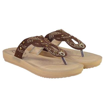 pokrok women pu stylish slippers (feps4) brown, black, red