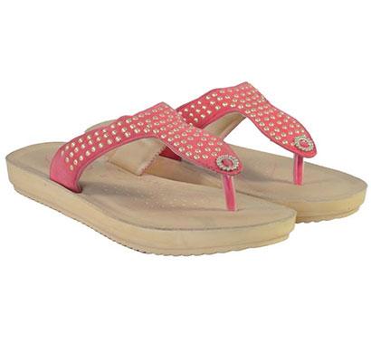 pokrok women pu stylish slippers (feps5) brown, black, red