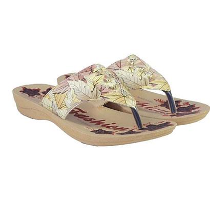pokrok women pu stylish slippers (zoos1) white, golden, skyblue, navyblue, red, purlple, blue