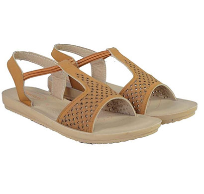 pokrok women pu stylish sandal (tictoe1) black, ten