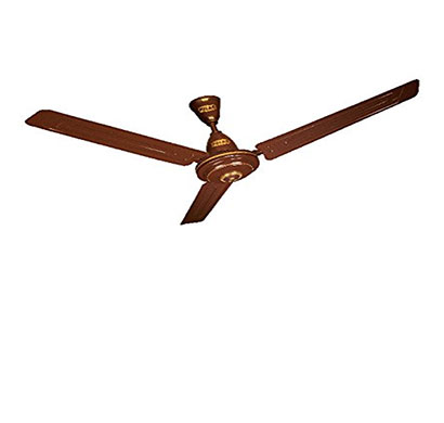 polar megamite (1200mm) electric ceiling fan (brown)
