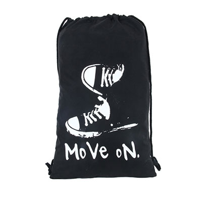 polestar drawstring moveon bag (black)