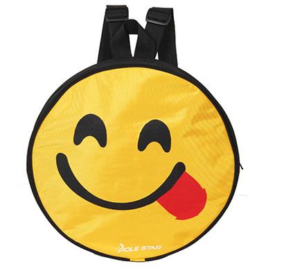 polestar - smiley_yum (black) school bag