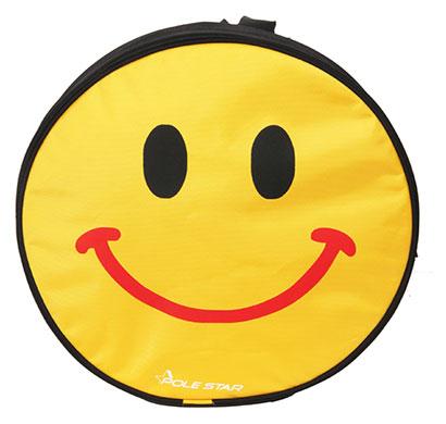 polestar - smiley_smile (black) school bag