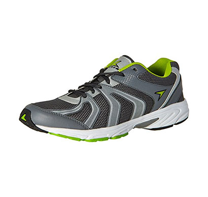 power men's messi grey running shoes - 9 uk/india (43 eu)(8392210)