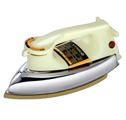 pringle dry iron di-1104 teflon coating 750 watts white/silver