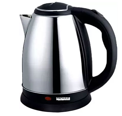 pringle ek-615 elektric kettle 1.8 ltr silver