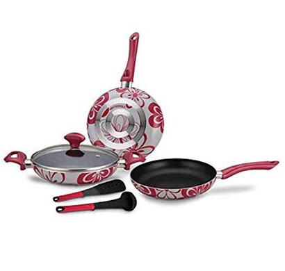 pringle non-stick cookware 6 piece set (fantasy)