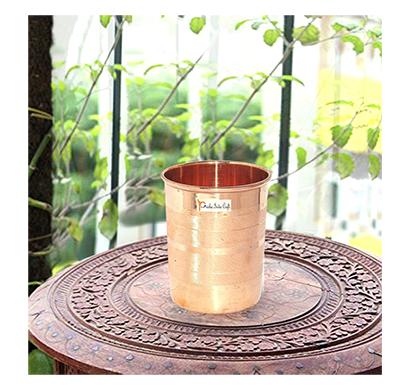 prisha india craft glass019-1 copper handmade water glasses/ capacity 300 ml