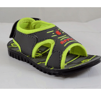 pu hills 5 to 10 kids sandal grey green
