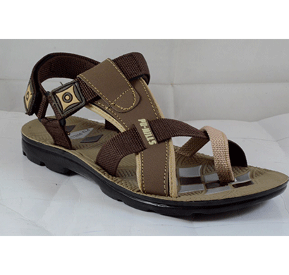 pu hills 7 to 10 men sandal tan brown