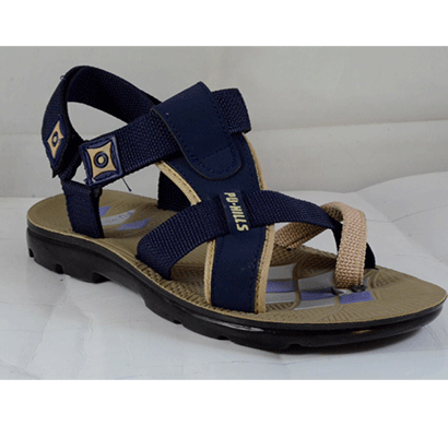 pu hills 6 to 9 men sandal bige blue