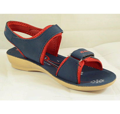 pu hills 5 to 8 size red binding pu heel blue red