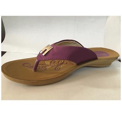 pu hills 5 to 8 size v - shape women slipper rexion purple