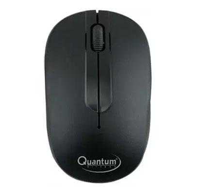 quantum qhm271 wireless optical mouse (black)