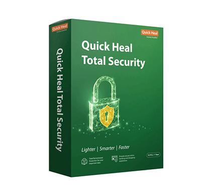 quick heal antivirus total security regular - 10 users 1 year (cd-dvd)