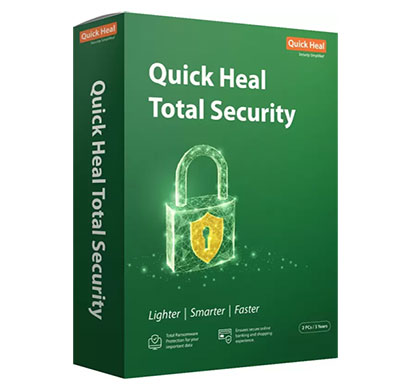 quick heal total security standard 2 user 3 years (cd/dvd)