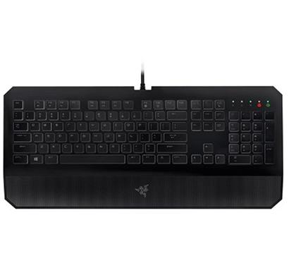 razer deathstalker essential wired usb gaming keyboard (black)