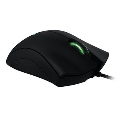 razer deathadder expert ergonomic wired laser gaming mouse (black)