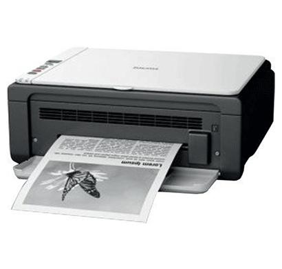 ricoh sp 111su monochrome multi-function laser printer grey & white