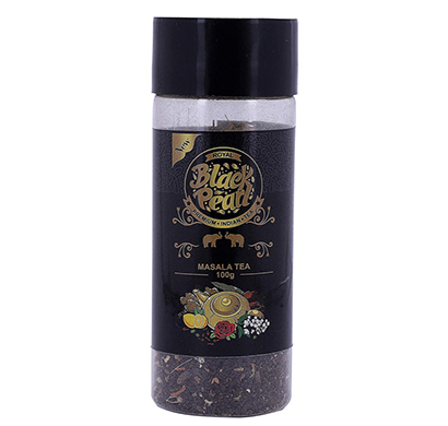 royal black pearl assam masala chai spices herbes - 100 gm