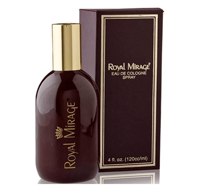 royal mirage cologne 120 ml for men's