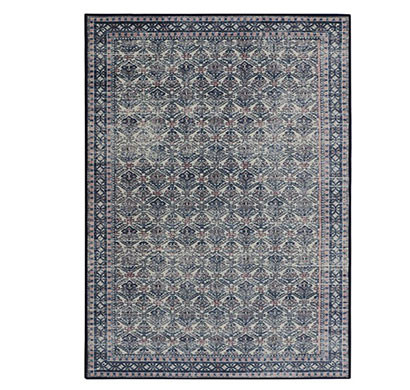rugsmith (rs000231) pink blue multi color premium qualty classical pattern polyamide nylon ancestral rug area rug