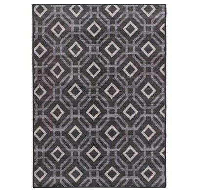 rugsmith (rs000234) grey multi color premium qualty classical pattern polyamide nylon manali rug area rug