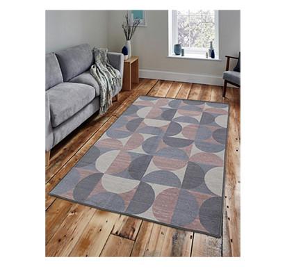 rugsmith (rs000030) rug & carpet rosette color premium qualty geometrical pattern polyamide nylon crescent moon rug area rug
