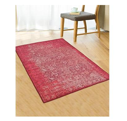 rugsmith (rs000002) rug & carpet pink color premium qualty distressed pattern polyamide nylon antibes rug area rug