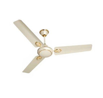 sameer fusion 5 star super deluxe (1200mm) ceiling fan (white)
