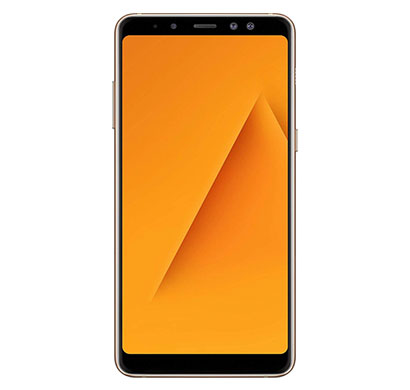 samsung galaxy a8 plus(6gb ram/ 64gb storage/ 6 inch screen) gold