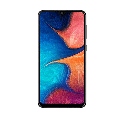 samsung galaxy a20 (3gb ram/ 32gb storage/ 6.4-inch screen),mix colour