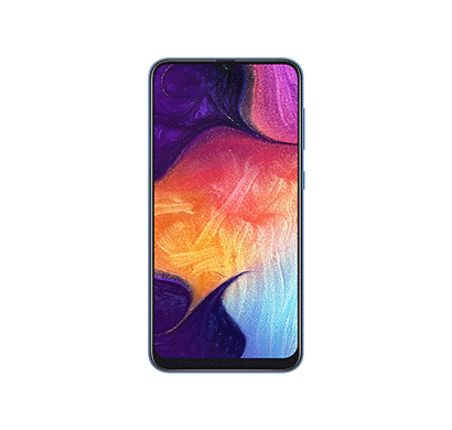 samsung galaxy a50 (6gb ram/ 64gb storage/ 6.4 inch screen),mix colour