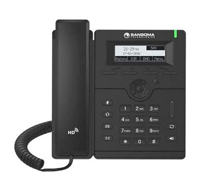 sangoma s205 voip phone black