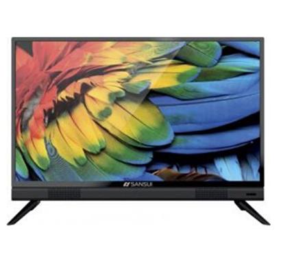 sansui (jsk32lshd) (32 inch) hd led smart bazzel free tv netflix 5.19 (black)
