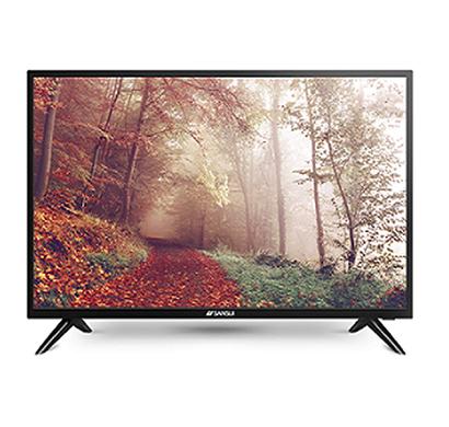 sansui (jsk43lsuhd) 43 inch smart uhd 4k tv netflix 5.1 (black)