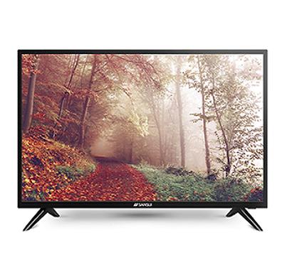 sansui (jsk55lsuhd) 55 inch uhd 4k tv netflix 5.1 smart tv (black)