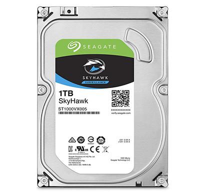 seagate skyhawk 1tb (st1000vx005) surveillance desktop hard drive - sata 6gb/s 64mb cache 3.5-inch internal drive