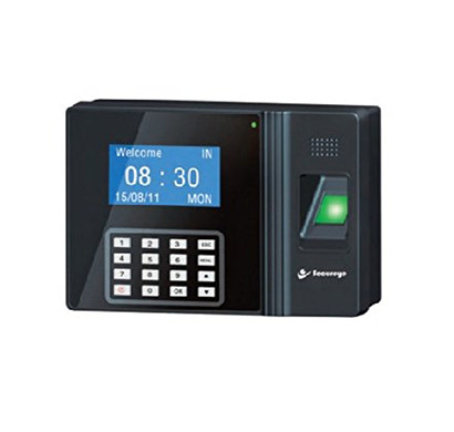 secureye s-b250cb fingerprint biometric device (rfid / password / battery / access control) black