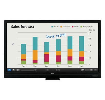 sharp (pn-65sc1) 65 inch touchscreen lcd monitor