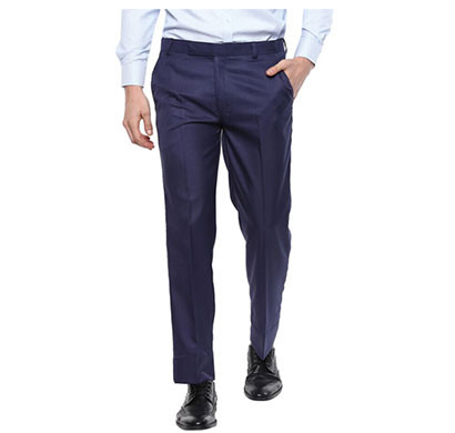 shaurya-f regular fit men trousers/ size 30/ dark blue