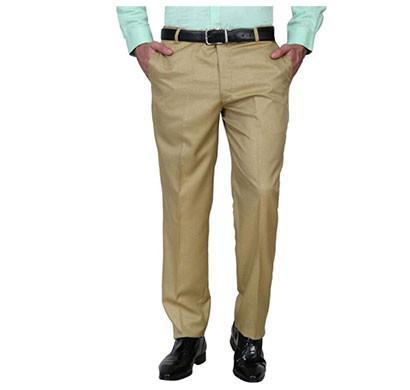 shaurya-f slim fit men formal trousers (beige)