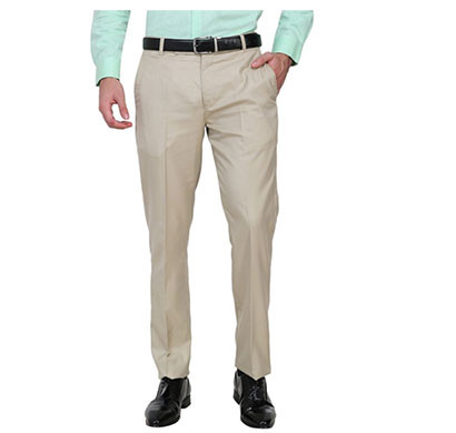 shaurya-f slim fit men trousers (beige)