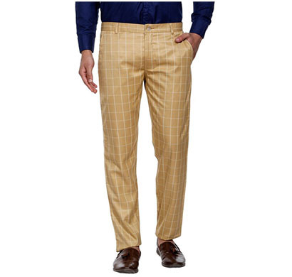 shaurya-f slim fit men trousers (brown)