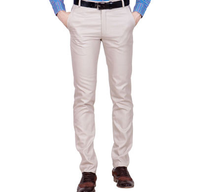 shaurya-f tr-27 regular fit men's beige trousers