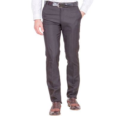 shaurya-f tr-20 regular fit men's black trousers
