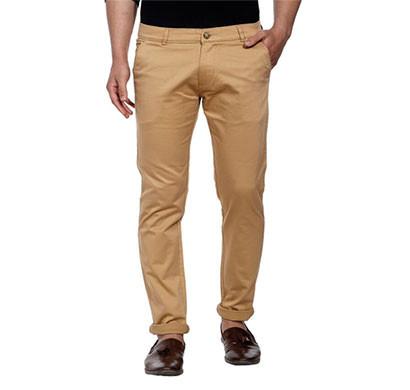 shaurya-f tr-219 slim fit men beige trousers