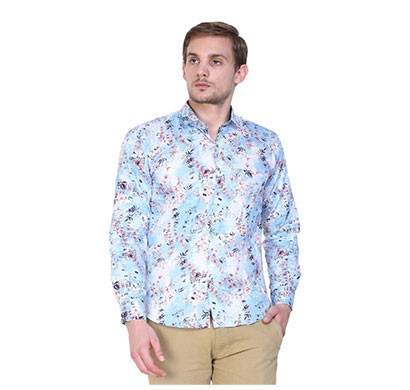 shaurya-f men's fancy printed casual shirt